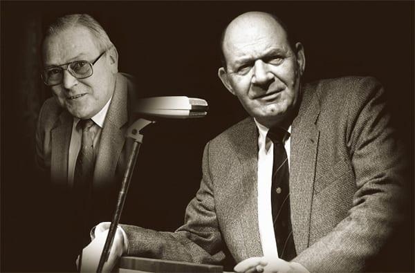 Pierre Claessens en Gerrit van den Broek oprichters Nationale Grote Clubactie 1972