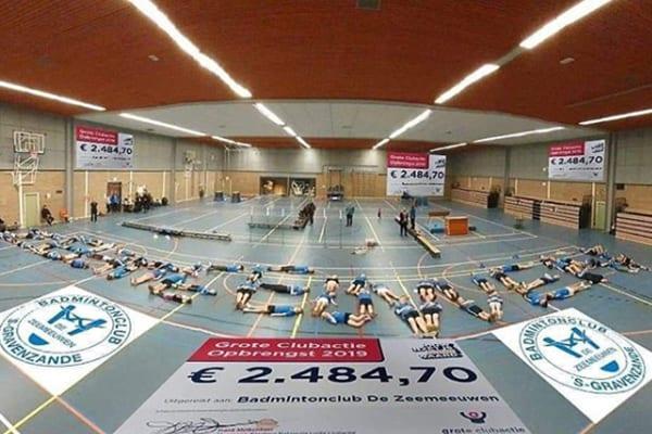 Succesverhaal Badmintonclub De Zeemeeuwen